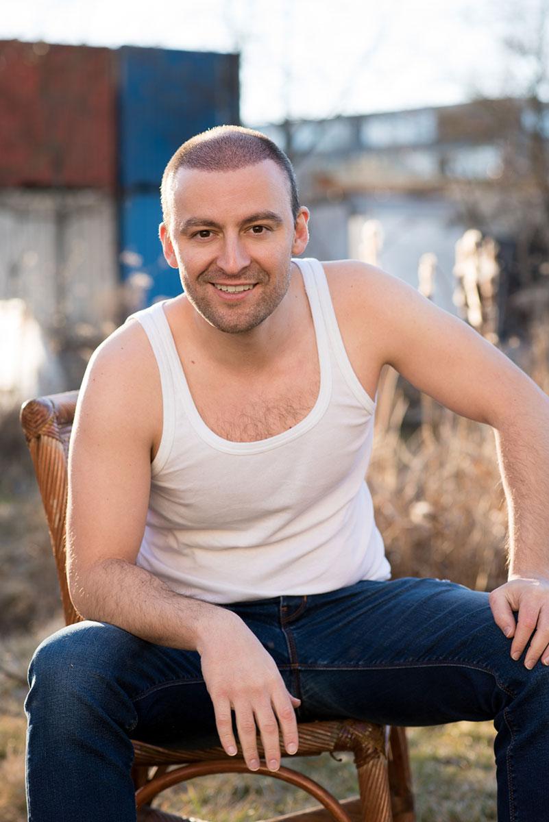 Portrait des Schauspielers Ben Akkaya