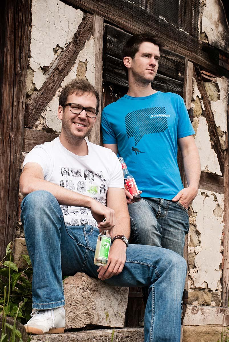 PR-Foto der Gründer der ACHT GRAD plus GmbH